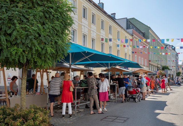 Zum Abschluss der Saison wird noch einmal kulinarisch aufgefahren am Roßmarkt.