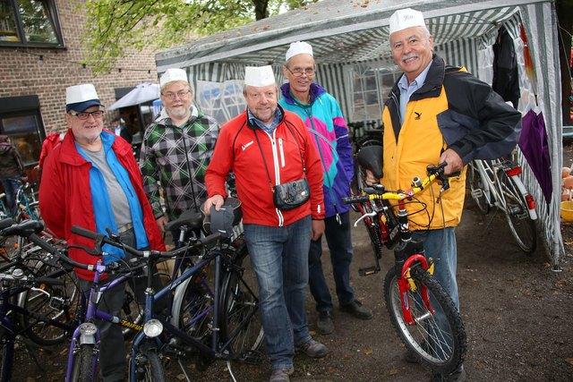Es werden auch wieder viele tolle Fahrräder angeboten!