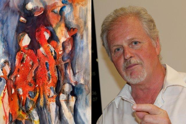 Künstler Albert Krajger zeigt seine neuesten Werke