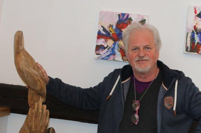 Die Ausstellung des Künstlers Albert Krajger im Haus der Kultur in Schwabegg wird verlängert