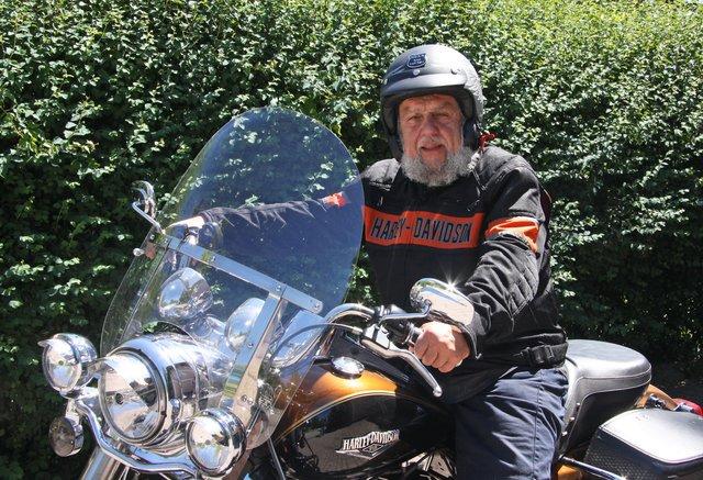 Zweites Brauhaus Bogner Harley-Treffen in Haselbach