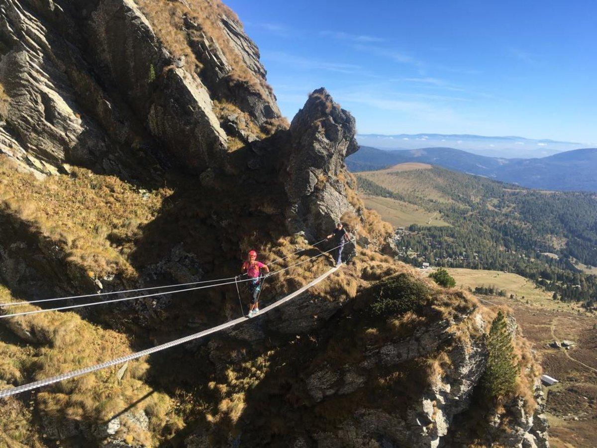 Klettersteig Falkert : Der neue klettersteig auf dem falkert