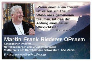 Martin Frank Riederer OPraem